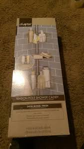 chapter tension pole shower caddy shoe800 com chapter tension pole shower caddy letgo chapter tension pole shower caddy in matthews nc