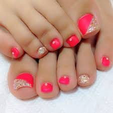 85 pink nail art designs for girls pedicures manicure and
