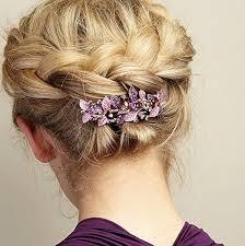 hair cl queenmee vintage hair clip leaf hair clip rhinestone hair cl