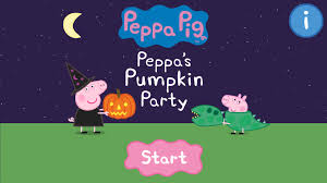 peppa pig halloween peppa pig book pumpkin party android apps on google play