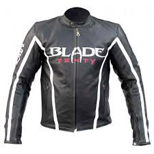 motorbike vest blade motorcycle riding armor biker leather jacket black u2013 ermine