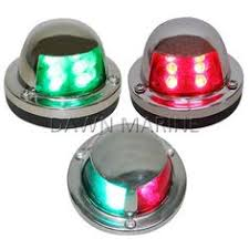 perko led navigation lights including navigation lights all round lights dome lights berth