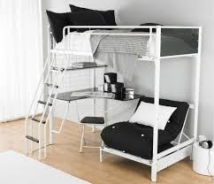 bedroom twin wood chocolate loft bed with desk on wheels and blue