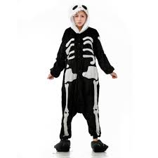 online get cheap halloween skeleton jumpsuit aliexpress com