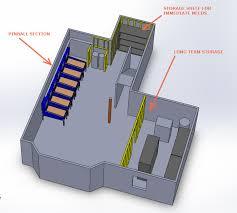 homebrew pinball basement layout