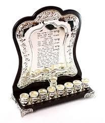 hanukkah menorah for sale buy blessings silver plate and wood hanukkah menorah menorahs for