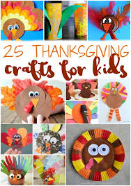 25 easy thanksgiving crafts for to keep them busy before dinner