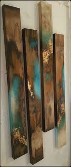 painted wood artwork 79 best acrylic resin wood images on wooden