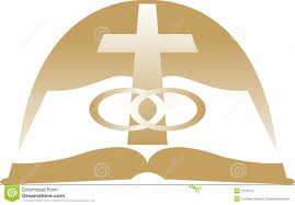 cross and wedding rings clipart free clip art images