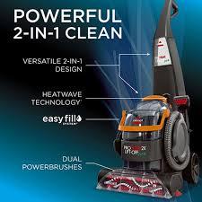 bissell proheat 2x lift off pet carpet cleaner 15651 vacuum