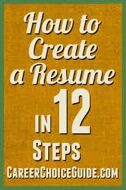 How To Create Job Resume by 25 Best Create A Resume Online Ideas On Pinterest How To Create