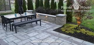 Backyard Paver Ideas Fabulous Backyard Pavers Ideas Retaining Walls Paver Ideas For