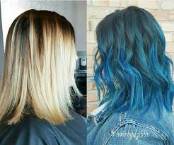 pictures of ombre hair on bob length haur 18 beautiful blue ombre colors and styles popular haircuts