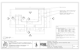 plan view echo advertising co millwork package sr designs