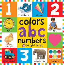 amazon bright bbaby colors abc u0026 numbers words
