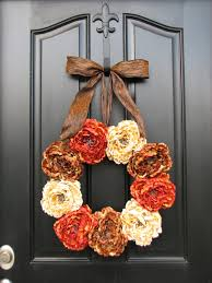 Outdoor Thanksgiving Decorations by Front Door Thanksgiving Decorating Ideas U2013 Decoration Image Idea