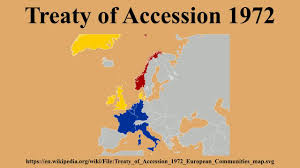 1972 Election Map by Treaty Of Accession 1972 Youtube