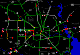Texas Road Conditions Map Updated Latest Road Closures And Conditions For The Houston Area