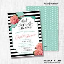 Make Your Own Bridal Shower Invitations Kentucky Derby Bridal Shower Invitations Cloveranddot Com