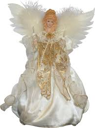 angel tree topper i have one like this that sits on our end table