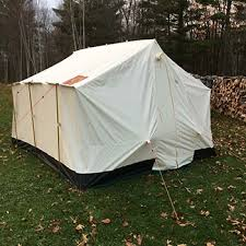 wall tent lightweight snowtrekker wall tent great for hunting base cing
