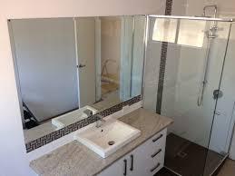 Vanity Framed Mirrors Bathrooms Design Photo Bathroom Frameless Mirror Splashbacks