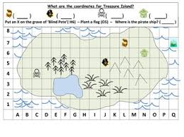 co ordinates treasure map ks1 by mrdhenshaw teaching resources