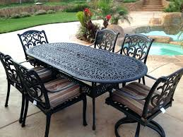 Black Rod Iron Patio Furniture Wrought Iron Benches A Note Of Luxury In Landscape Symphony