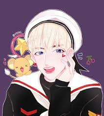 cute anime halloween v taehyung bts this fanart is from that cute halloween dance