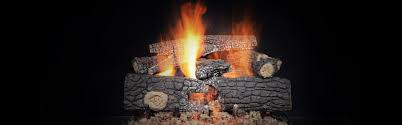 outdoor fireside realwood gas log set heat u0026 glo