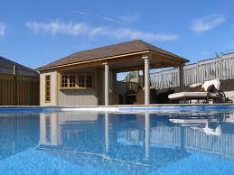 Backyard Pool House by Stunning Pool Cabana Designs Photos Decorating Design Ideas
