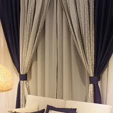 curtain designer designer drapes curtains for blackout sunshine in navy color