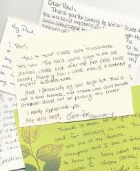 should actors send thank you cards to agents directors