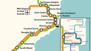Miami Metro Map by Where 10 Transit Stops Got Their Names The New Tropic