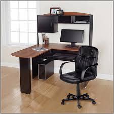 Bush Computer Desk With Hutch by Bush Cabot L Shaped Computer Desk Espresso Oak Desk Home