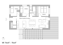 small one story house plans simple modern house idea with two single storey height concept