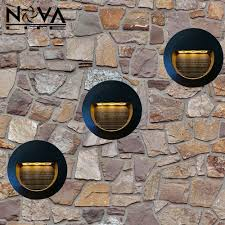 Recessed Outdoor Wall Lights 3w Outdoor Recessed Led Wall L Exterior Led Step Light