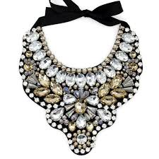 big necklace images Women handmade exaggerate crystal big necklace hi q gems bead bib jpg