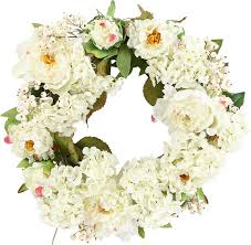 hydrangea wreath 20 peony hydrangea wreath reviews joss