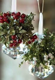 where to buy mistletoe with gold glitter mistletoe and berries buy now