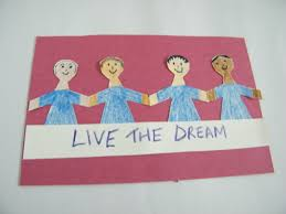 martin luther king day poster arts u0026 crafts activity for kids