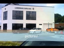 lamborghini showroom building trip to lamborghini carolinas and foreign cars italia youtube