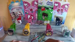 ben 10 u0026 hello kitty mcdonalds happy meal toys full set european