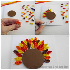 quilled thanksgiving cards for ted s