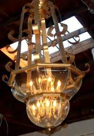Art Nouveau Chandelier Lighting And Chandeliers San Leandro Auctions California Floor