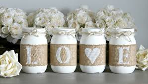valentines day home decorations pure white valentine s day home decor one sided jarful house