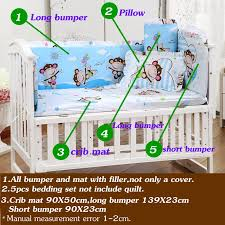 Baby Crib Bed Sets New Baby Bedding Set Baby Crib Bedding Set With Bumper Free