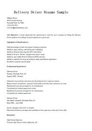 commercial truck driver resume sample truck driver job description