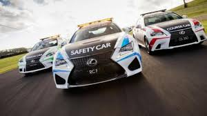 lexus australia linkedin rc f safety car unveiled for v8 supercars