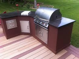diy outdoor kitchen island diy outdoor kitchen